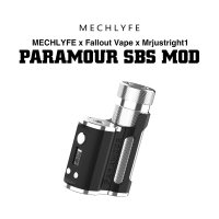 <img class='new_mark_img1' src='https://img.shop-pro.jp/img/new/icons1.gif' style='border:none;display:inline;margin:0px;padding:0px;width:auto;' />MECHLYFE PARAMOUR SBS MOD 80W【メックライフ パラモア テクニカルモッド Fallout Vape Mrjustright1 バッテリー別売】