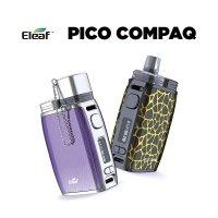 Eleaf PICO COMPAQ 60W【イーリーフ ピココンパック キャプ付き ボックス POD バッテリー別売】