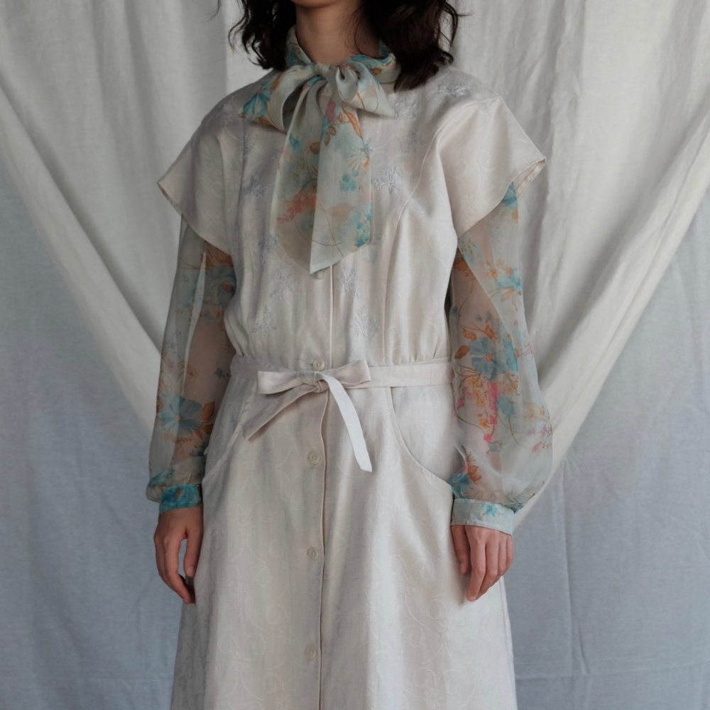 [VINTAGE] Byelorussian Hand Embroidered Dress