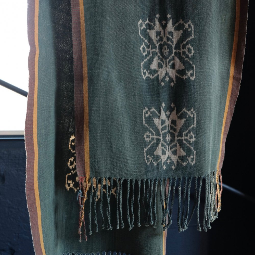 Ikat with Vegetable Dyes, Made in Pulau Flores by Boinu