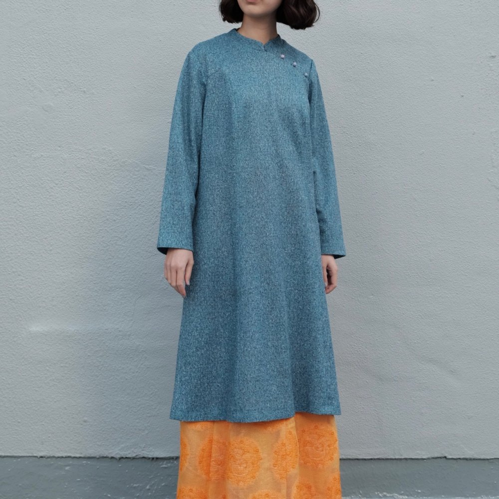 [VINTAGE] Snow Noise Blue Dress