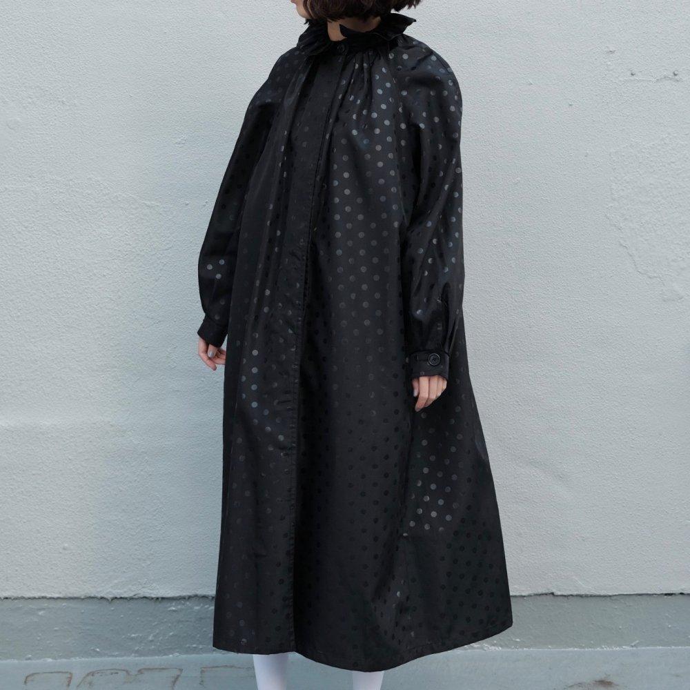 [VINTAGE] Petit Elizabethan Collar Dots Coat
