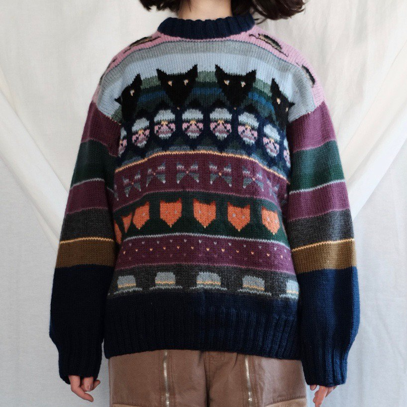 [VINTAGE] Sweet Invader Sweater