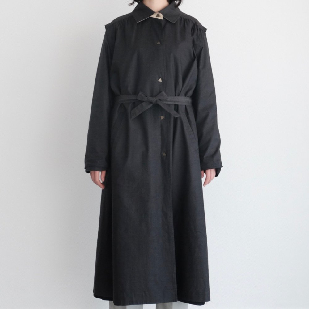 [VINTAGE] Sankaku Buttons Coat