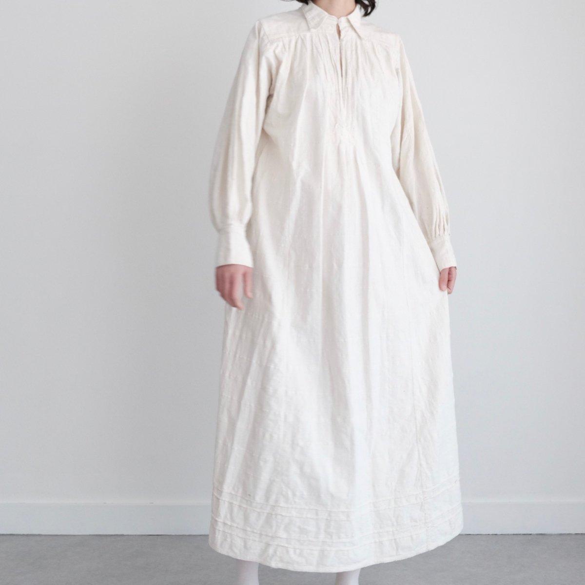 [VINTAGE] Romanian Undyed Maxi Dress