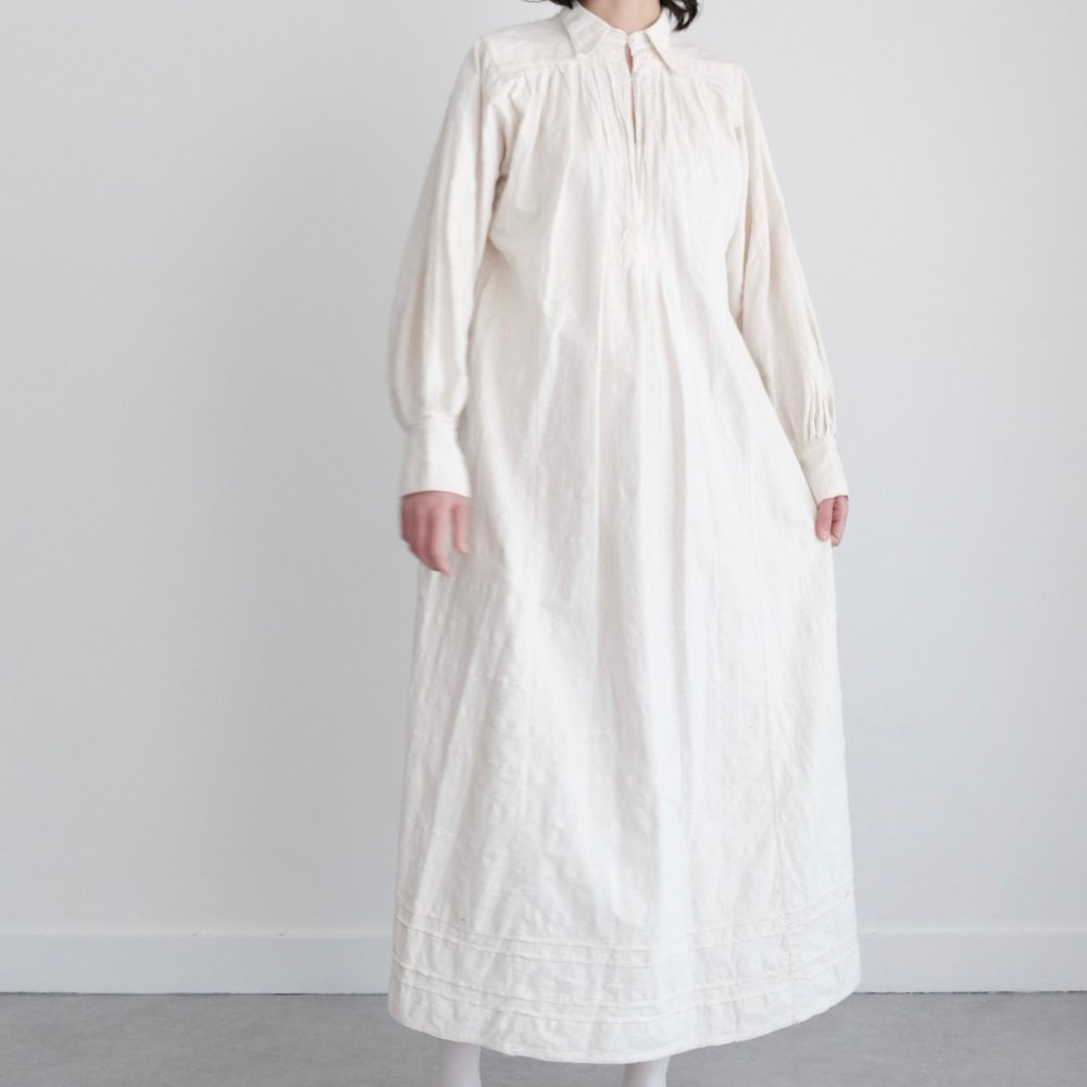 [VINTAGE] Romanian Undyed Maxi Dress