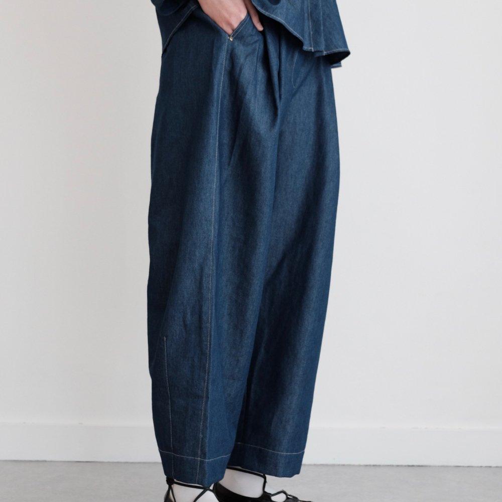 Volendam Worker's Slim Pants (Indigo) by suie
