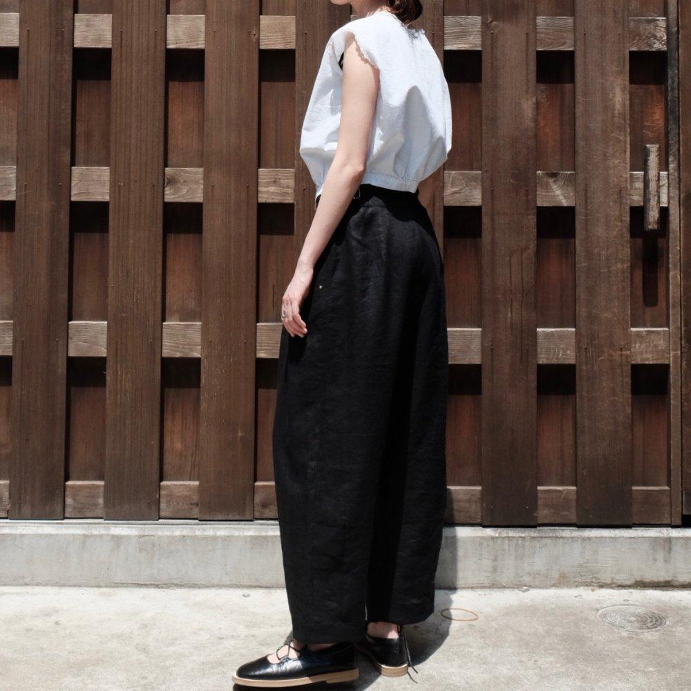 Volendam Worker's Slim Pants (Black) by suie