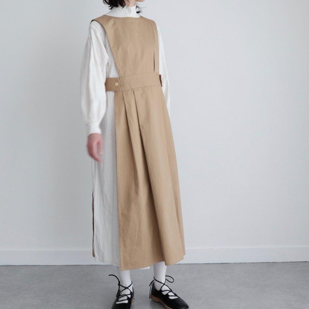 Apron Dress (Beige) by suie