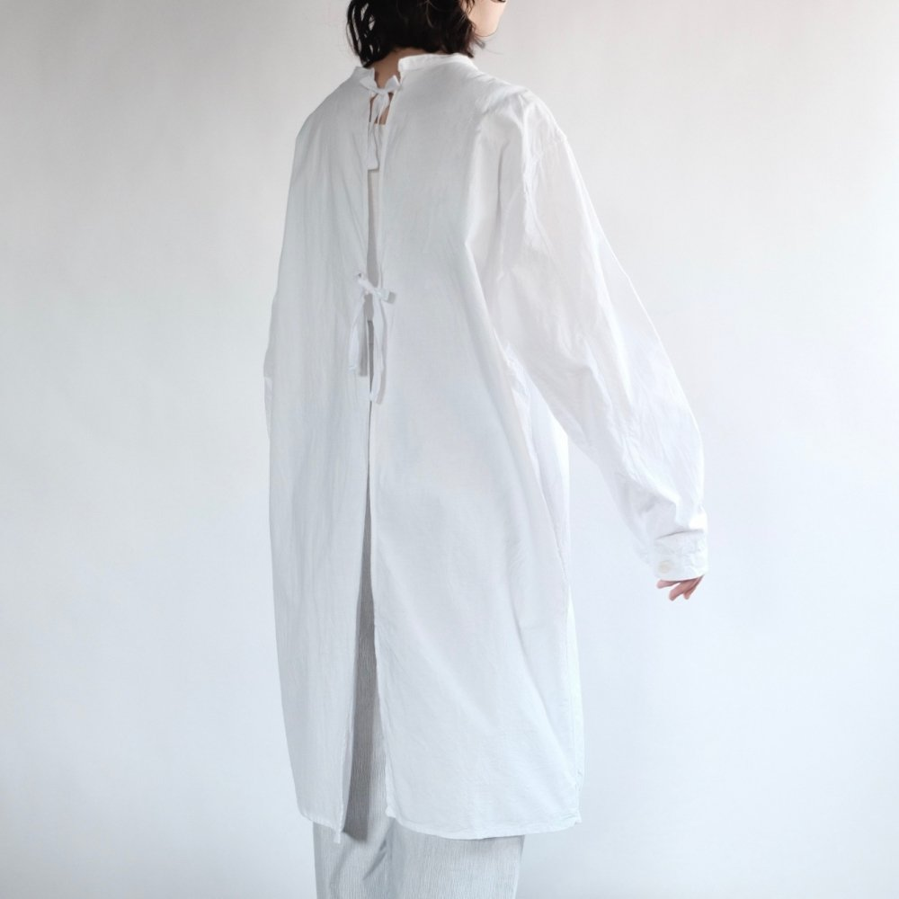 [VINTAGE] Back Ribboned Medical Shirt