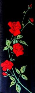 薔薇 (紺×赤)