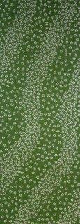 流れ小桜(オリーブ)
