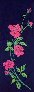 薔薇 紺×ピンク
