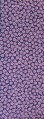桜 紺×ピンク