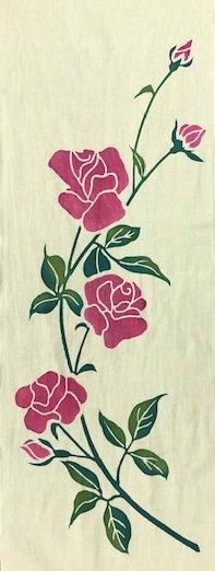 薔薇 (裏葉柳×ピンク)