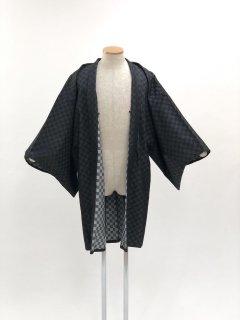 デニム羽織(透かし市松)