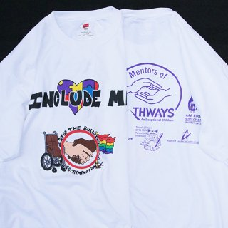 2010s Include Me! Graphic グラフィックTシャツ デッドストック【L】
