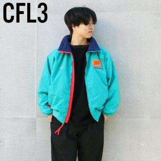 <img class='new_mark_img1' src='https://img.shop-pro.jp/img/new/icons5.gif' style='border:none;display:inline;margin:0px;padding:0px;width:auto;' />1990s Columbia Sportswear コロンビアスポーツウェア/フリースラインドナイロンジャケット CFL3,WM【XL】