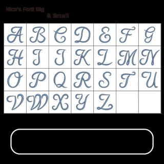 Nico's Font Big & Small