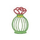 バラの香水瓶