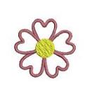 heart flower B