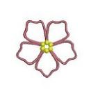 pentagon flower B