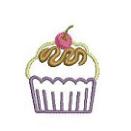 チェリーのカップケーキ