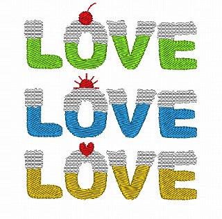 LOVEロゴセット
