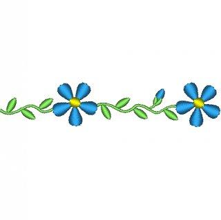 花のライン飾りセット