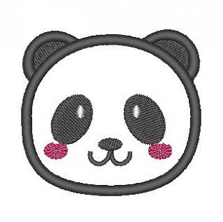 パンダのクッションチャーム