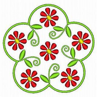 北欧風の花A