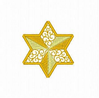 ☆クリスマスモチーフ☆星のオーナメント