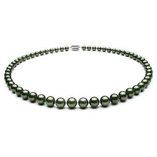[ JB-5 ] 黒染めアコヤ真珠ネックレス(約7.5〜8.0mm珠)