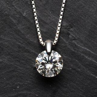 プラチナ1粒ダイヤモンドネックレス 3.361ct(JUD-1)