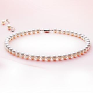 真珠ネックレス&イヤリングセット
