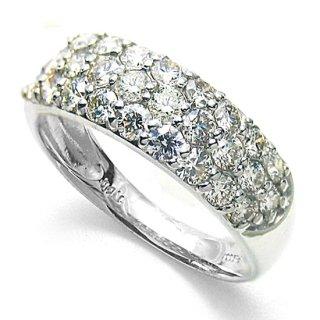 Pt ファンシーカラーダイヤモンドリング