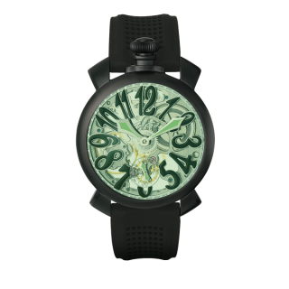 GAGA MILANO MANUALE 48MM SKELETON 5312.02.OR(マヌアーレ48mm)