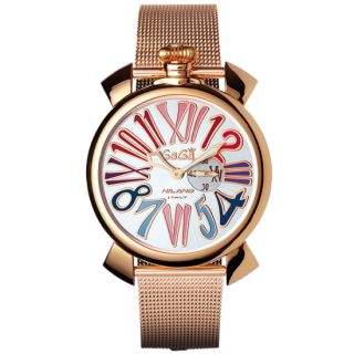 GAGA MILANO SLIM 46MM GOLD PLATED,5081.1[スリム46mm]