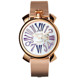 GAGA MILANO SLIM 46MM GOLD PLATED, 5081.3[スリム46mm]