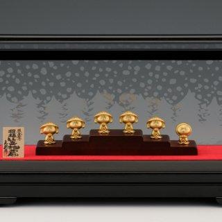 純金製 笠地蔵