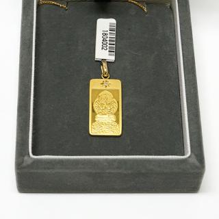 純金製仏像ペンダント 千手