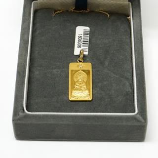 純金製仏像ペンダント 勢至
