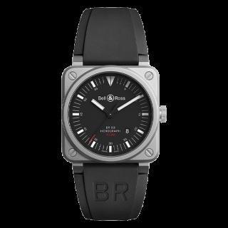 Bell & Ross ベル&ロス インストゥルメント BR03-92 ホログラフ BR0392-HOR-BLC/SRB