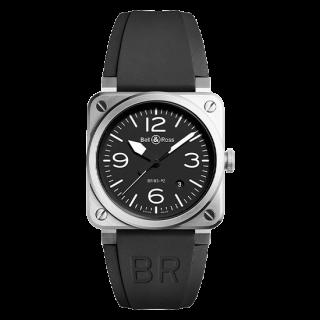 Bell & Ross ベル&ロス インストゥルメント BR03-92 ブラックスチール BR0392-BL-ST/SRB