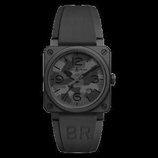 Bell & Ross ベル&ロス インストゥルメント BR03-92 ブラックカモ BR0392-CAMO-CE/SRB