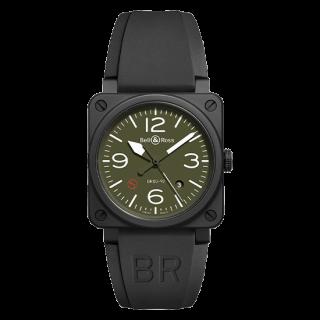 Bell & Ross ベル&ロス インストゥルメント BR 03-92 ミリタリータイプ BR0392-MIL-CE