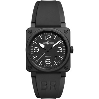 Bell & Ross ベル&ロス インストゥルメント BR03-92 ブラックマット BR0392-BL-CE