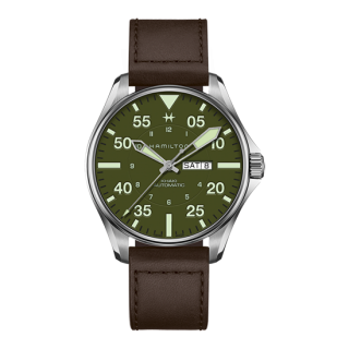 HAMILTON カーキアビエーション PILOT SCHOTT NYC - LIMITED EDITION