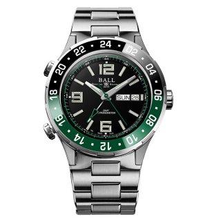 ボールウォッチ ロードマスター マリンGMT 世界限定 1,000本 DG3030B-S2CJ-BK 黒緑ベゼル | H.Q. by HARADA PRESENTS Watch Fair