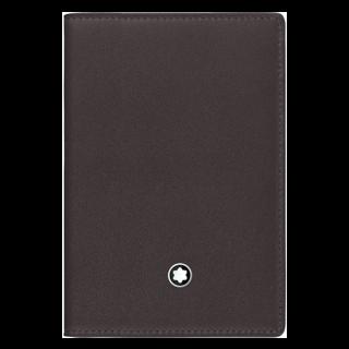 MONTBLANC モンブラン ビジネスカードホルダー Brown/Brown MB114553